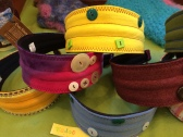 Plaidypus upcycled headbands made from t-shirts in Wadoo Furniture and Gifts