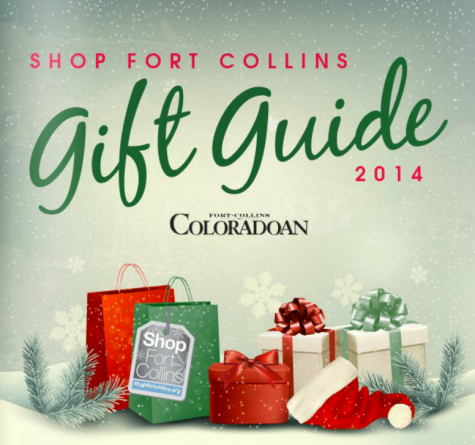 Coloradoan gift guide featuring plaidypus felted coffee cup cozy