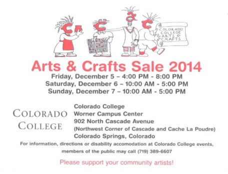 colorado college 2014 arts and craft fair plaidypus