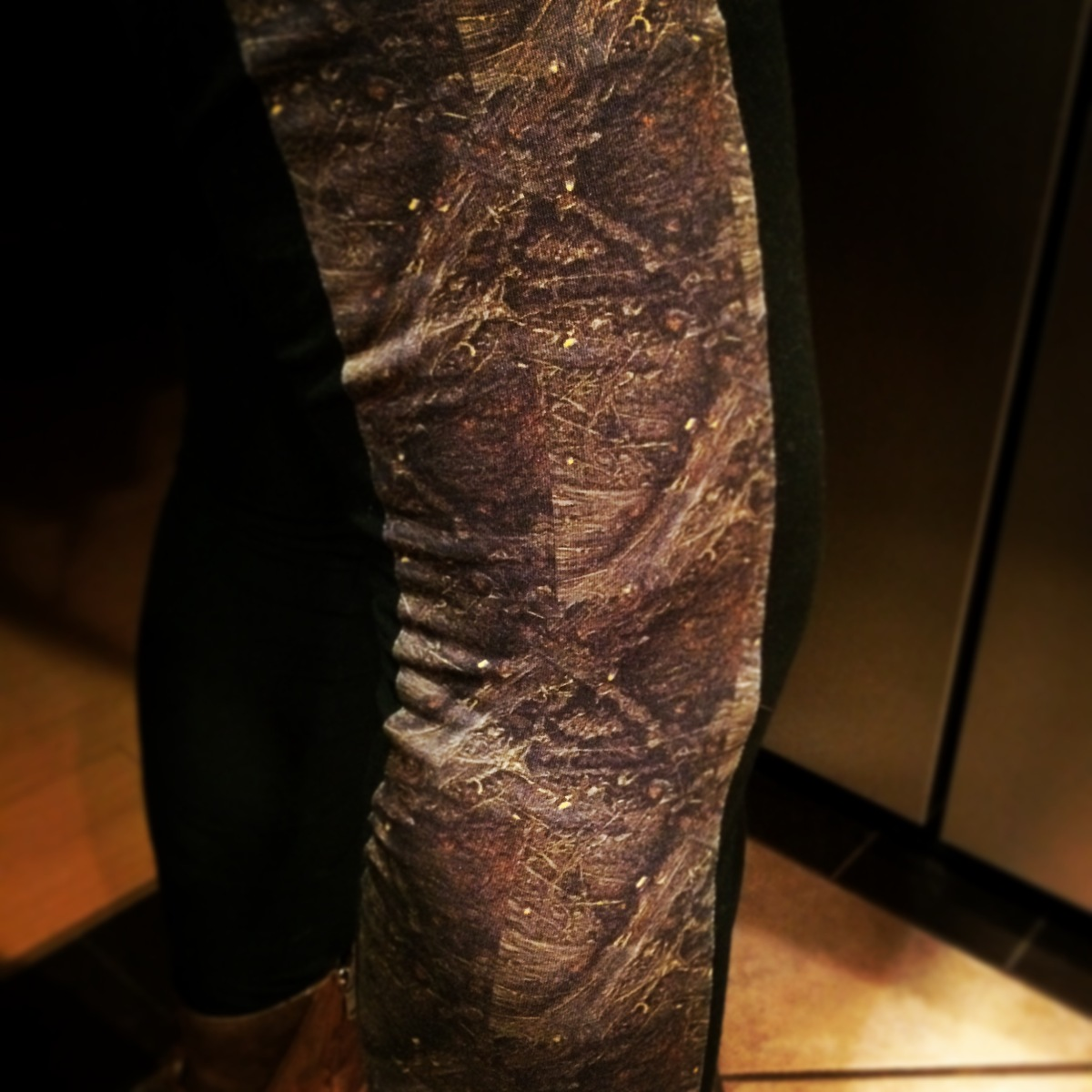 plaidypus looking glass leggings rat spinal cord neuroscience fashion